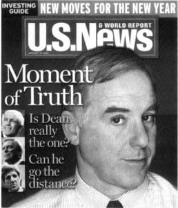 Howard Dean cover