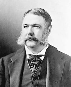 Chester Arthur, Vermont native who became President when James Garfield was assassinated in 1882.