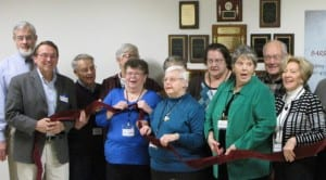 The Barre Area Senior Center hosted a ribbon cutting ceremony and open house Friday, so locals could check out its new location at 131 S. Main St.