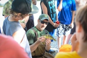 The Vermont Fish & Wildlife Department's Green Mountain Conservation Camp program offers young people the opportunity to learn about natural resource conservation and develop outdoor skills through hands-on learning experiences.