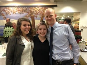 Rachael Cummings (center), of Montpelier, was named the 2015 Vermont Youth of the Year by Boys & Girls Clubs of America.