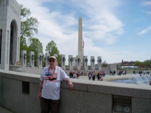 "Longtime Graniteville resident Cecil ""Pete"" Tucker recently took an Honor Flight, allowing him to visit war memorials in Washington D.C., four days after his 94th birthday. Tucker served in the U.S. Army Air Corps during WWII."