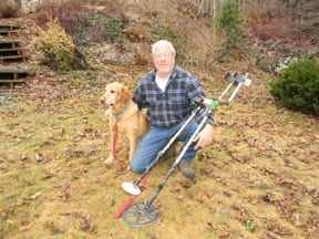 Barre resident Mike Baker, a metal-detecting enthusiast, wants to help you find lost jewelry.