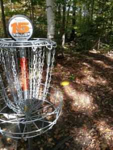 The Quarries Disc Golf Course in the Barre Town Forest offers challenges and views disc golfers will not experience anywhere else in the state.