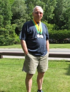 Jim Ryan, a 66-year-old Berlin resident, competed in the Vermont Senior Games Track & Field State Championships on June 27. Despite never running track when he was younger, Ryan won the 100 meters, long jump, and triple jump.