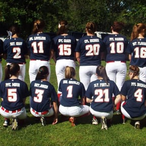 The Screaming Eagles, an 18U softball team based out of the Northeast Kingdom, have shown its selflessness on and off the field. The girls have received recognition for wearing the names of fallen soldiers on the backs of their jerseys.