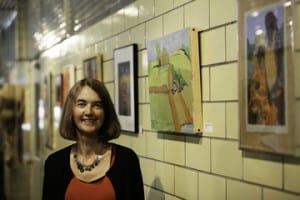Ginny Callan took over as executive director at the T.W. Wood Gallery & Arts Center in July and is excited to help the gallery grow in its new home at 46 Barre St. in Montpelier.