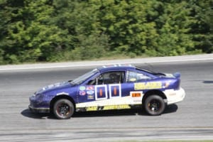 Brandon Gray has been disqualified from the Allen Lumber Street Stock feature at the Labor Day Classic due to illegal engine components. Photo by Alan Ward/Big Al's Photos