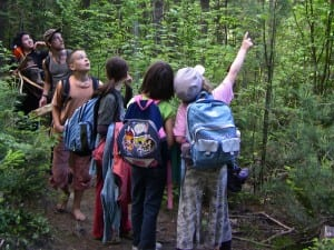 Students from all over central Vermont are able to spend one day a week outside, learning many life skills that they normally wouldn't experience in a classroom setting thanks to EarthWalk Vermont.