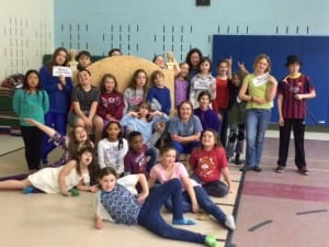 Students at Rumney Memorial School are excited to take audience members into the wonderful world of Willy Wonka and his magical chocolate factory during the Drama Club's performance this week.