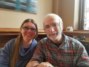 Michelle Acciavatti (left) and Fred Cheyette are facilitators for the Montpelier Death Café, which meets at North Branch Café monthly and attempts to eliminate the stigma surrounding dying.