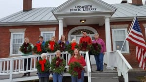 Wreath-making was a popular workshop at Ainsworth Public Library last month. The free workshop was part of the new Williamstown Academy workshops that teach community members diverse skills.